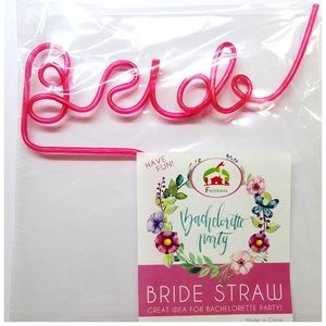 Other - Bride Straw for Bachelorette Party
